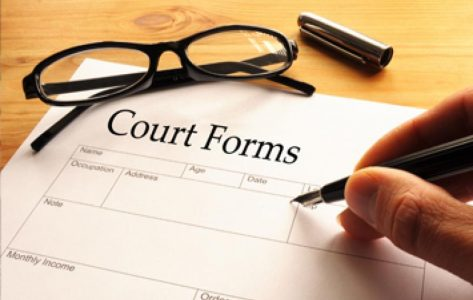 court-form